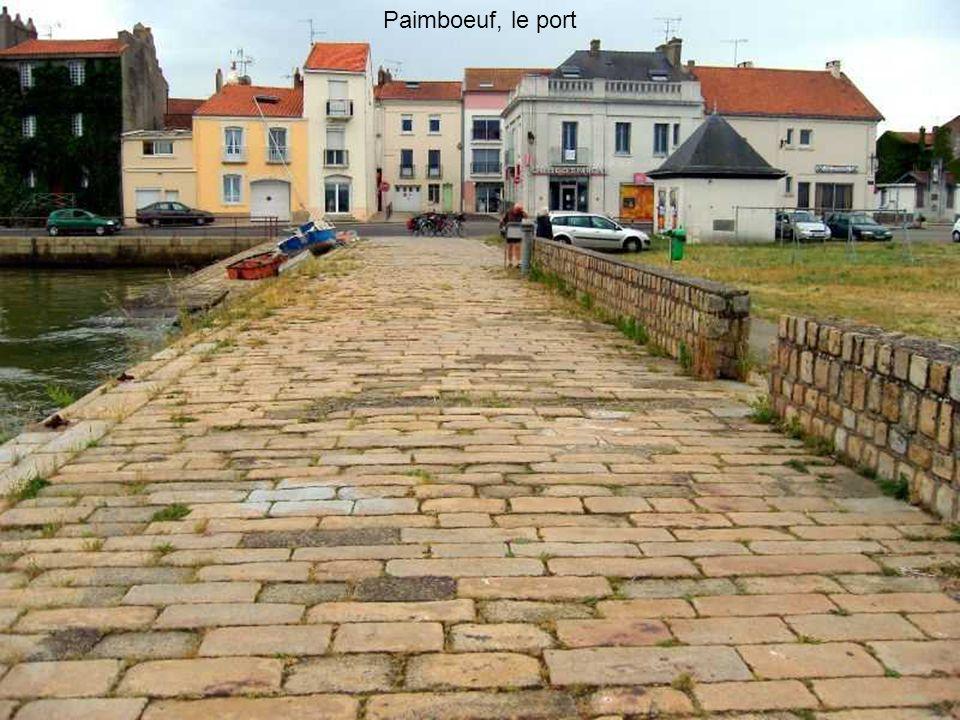 Paimboeuf, le port