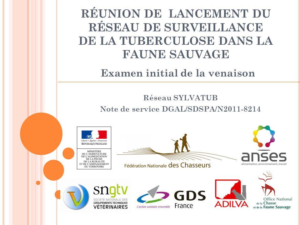 Réseau SYLVATUB Note de service DGAL/SDSPA/N2011-8214