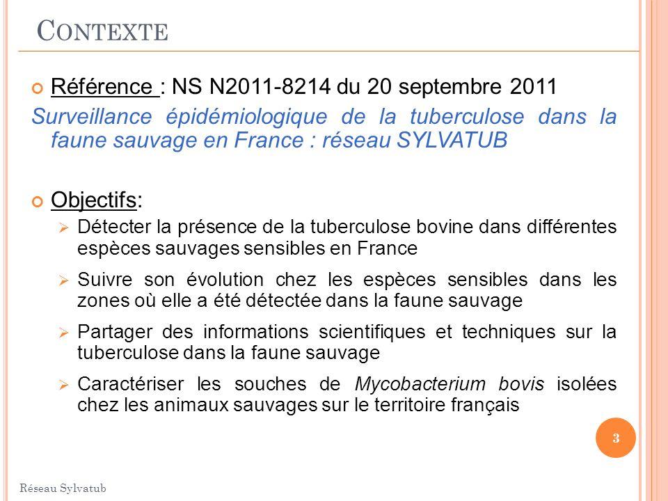 Contexte Référence : NS N2011-8214 du 20 septembre 2011