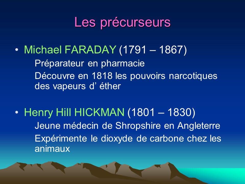 Les précurseurs Michael FARADAY (1791 – 1867)