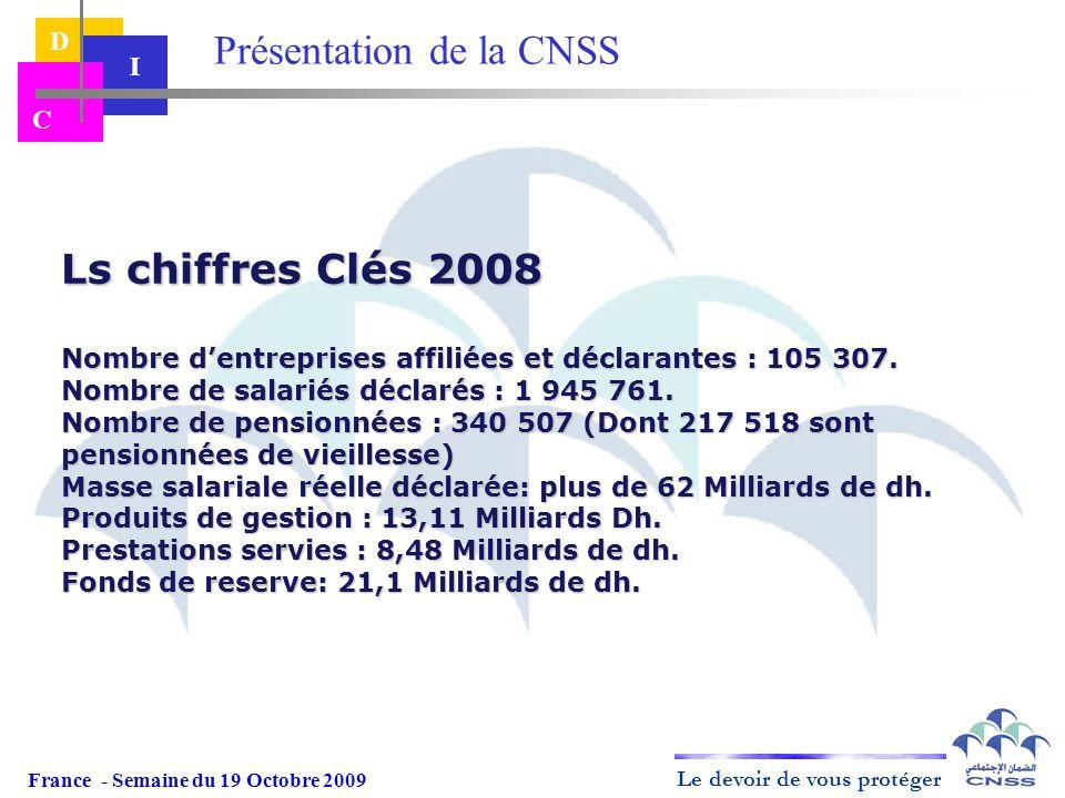 Présentation de la CNSS
