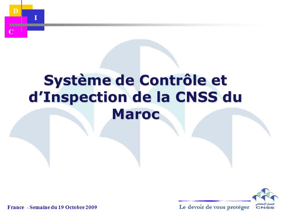 Système de Contrôle et d'Inspection de la CNSS du Maroc
