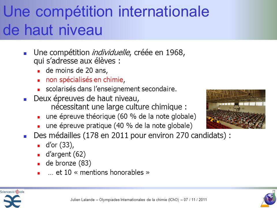 Une compétition internationale de haut niveau