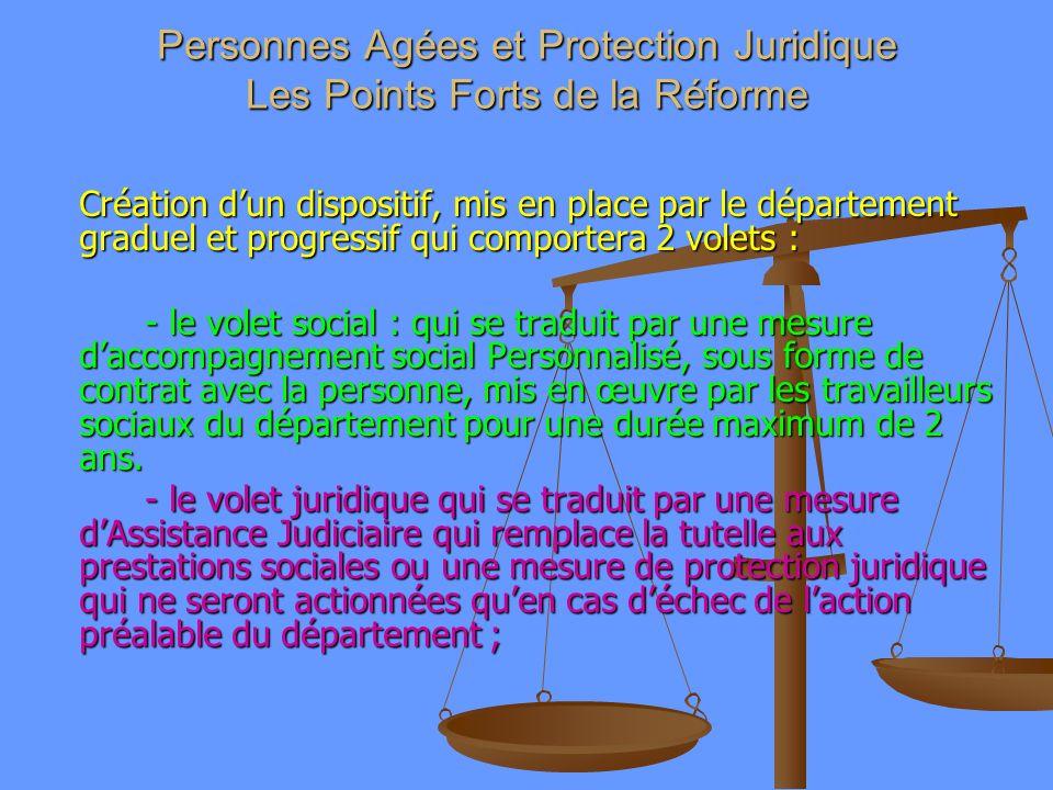 Personnes Agées et Protection Juridique Les Points Forts de la Réforme