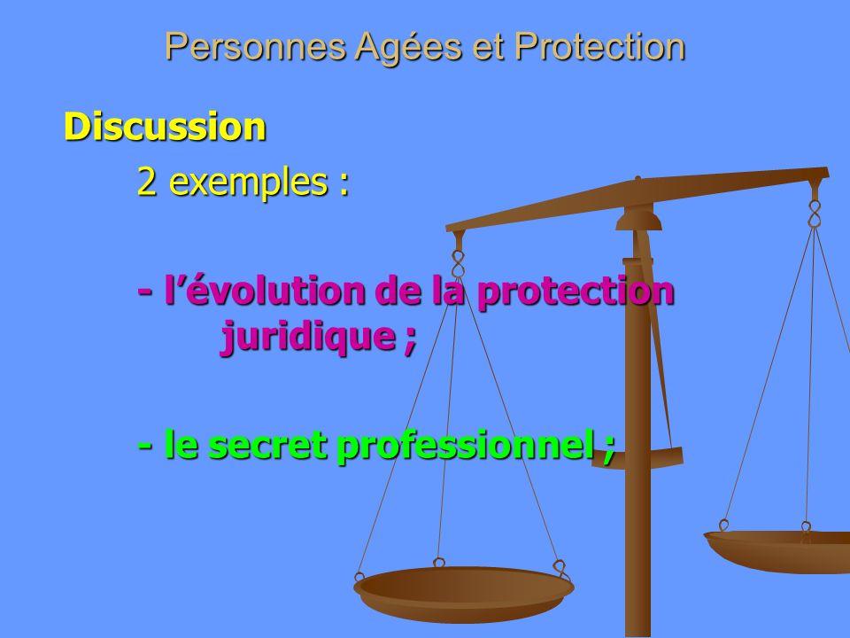 Personnes Agées et Protection