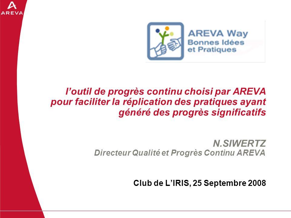 Club de L'IRIS, 25 Septembre 2008