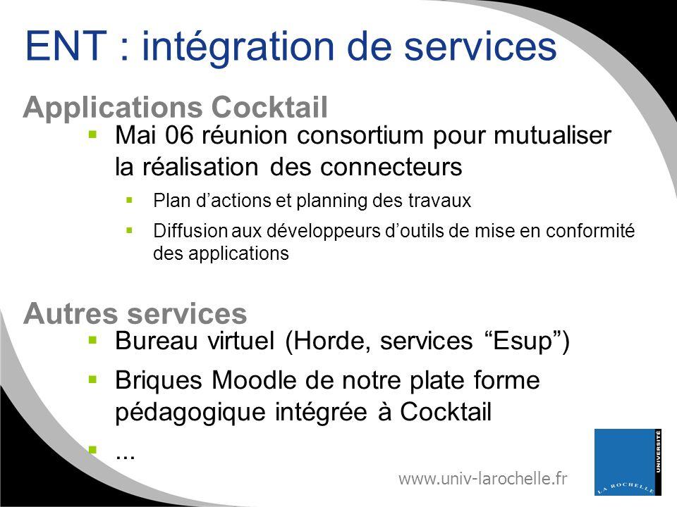 ENT : intégration de services