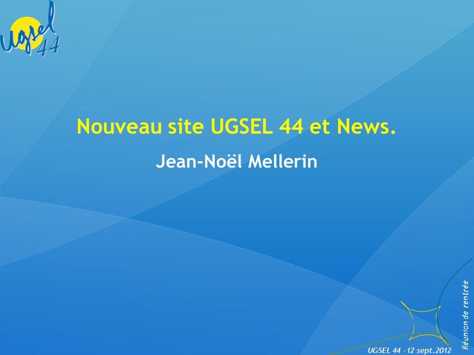 Nouveau site UGSEL 44 et News.