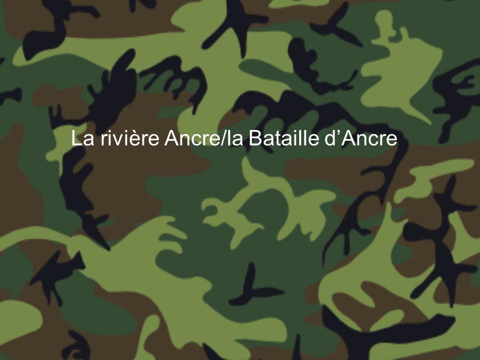 La rivière Ancre/la Bataille d'Ancre