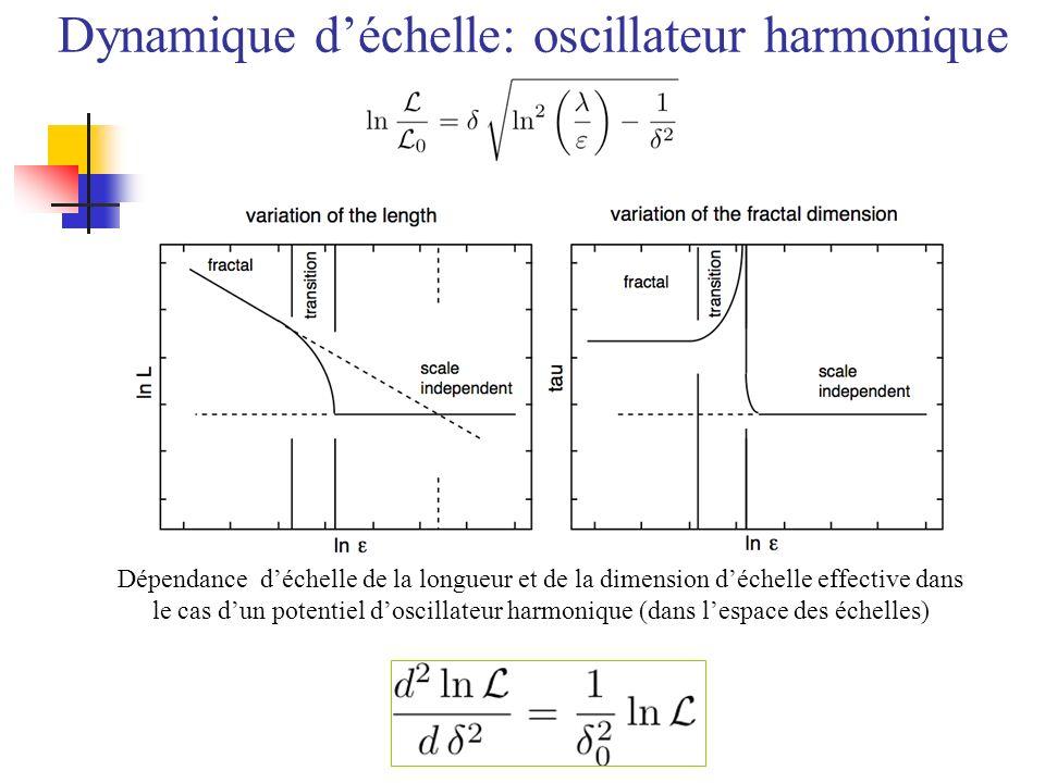 Dynamique d'échelle: oscillateur harmonique
