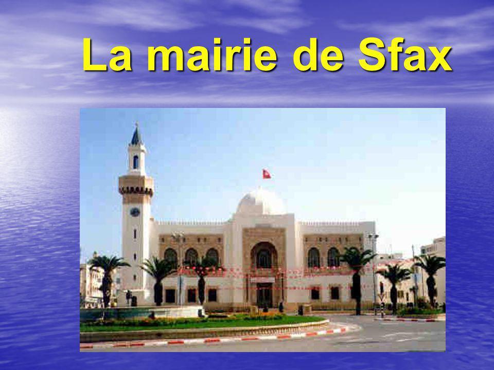 La mairie de Sfax