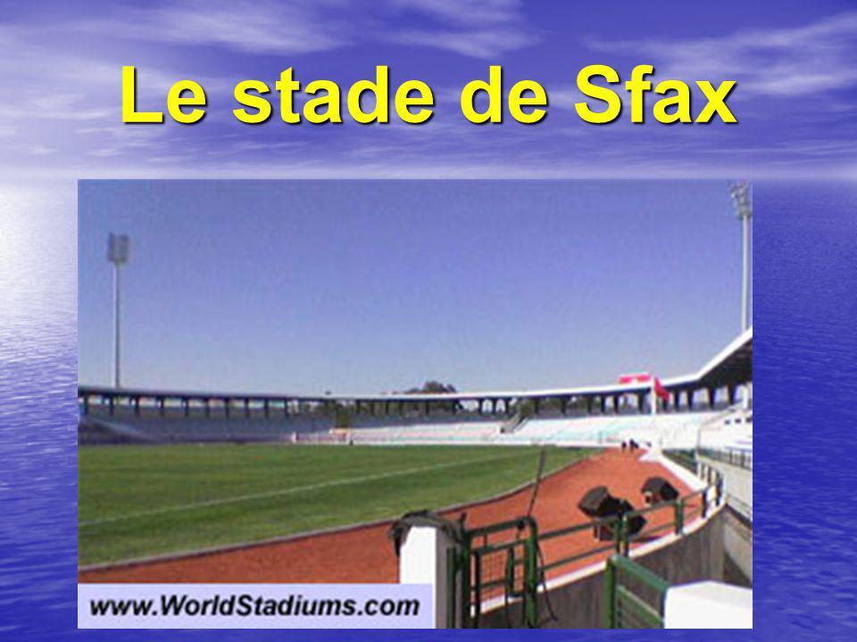 Le stade de Sfax