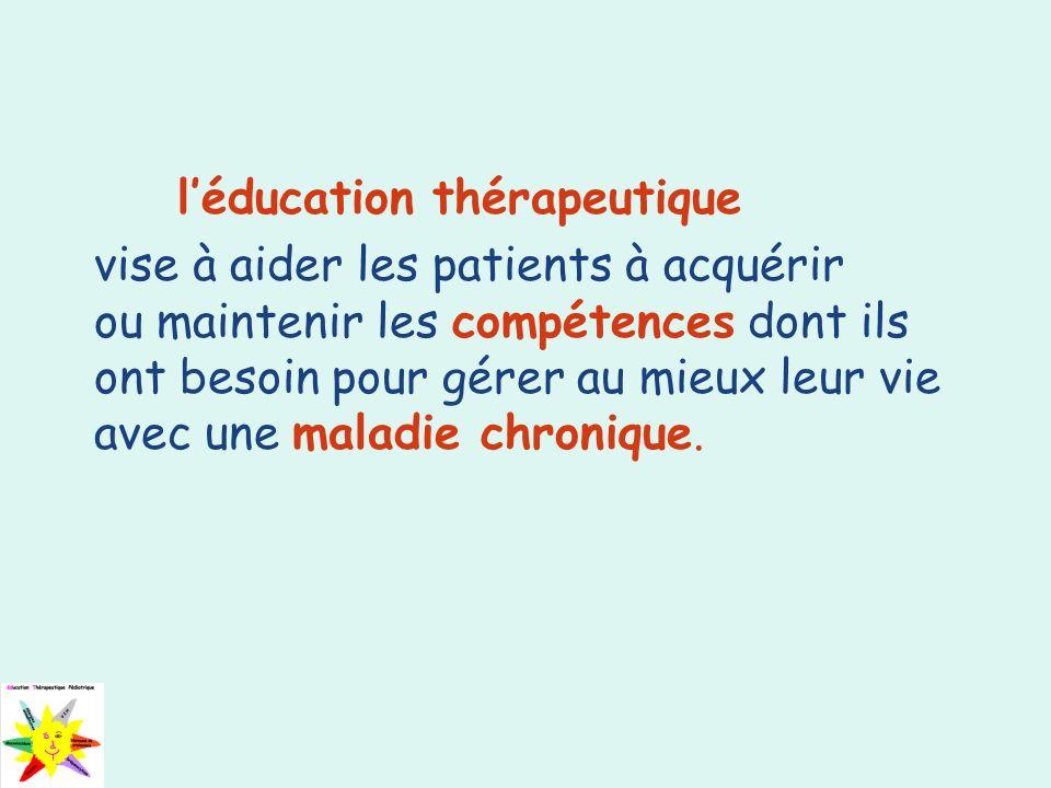 l'éducation thérapeutique