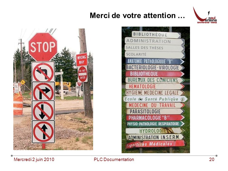 Merci de votre attention …