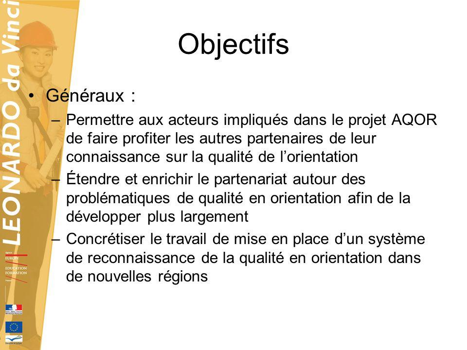 Objectifs Généraux :