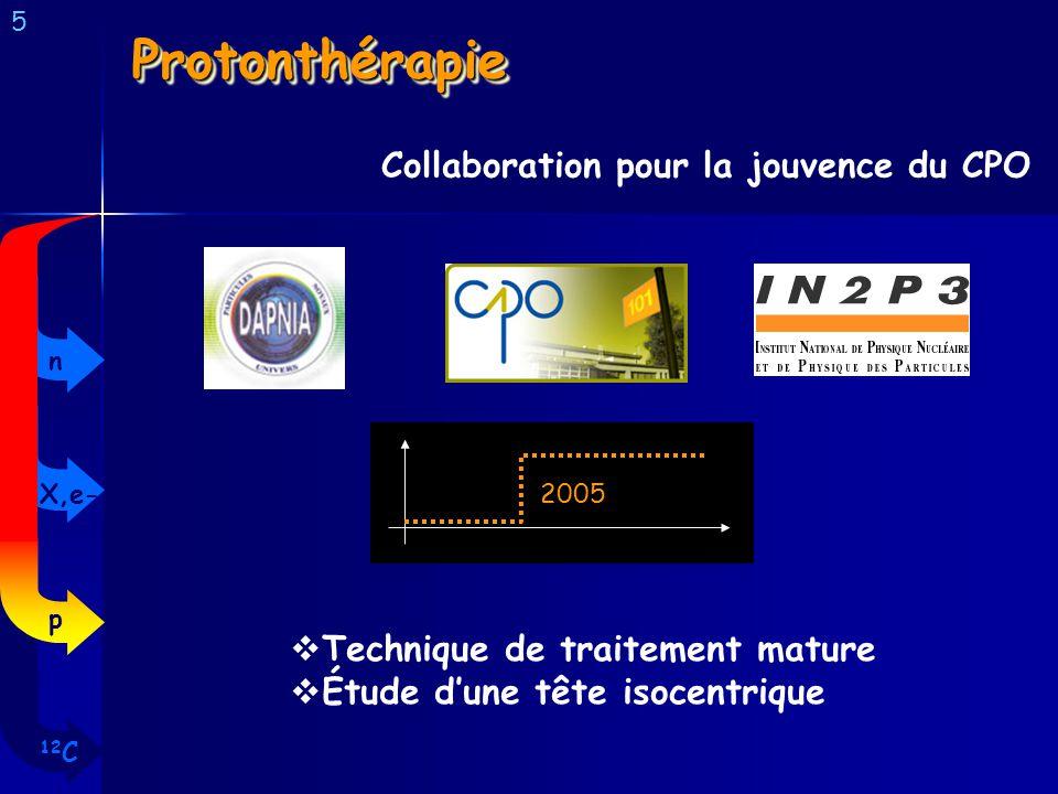Protonthérapie Collaboration pour la jouvence du CPO