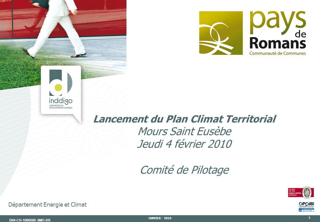 Lancement du Plan Climat Territorial