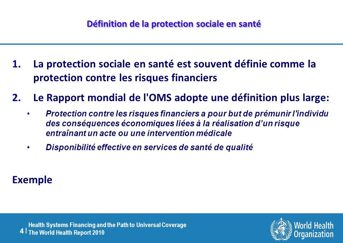 Définition de la protection sociale en santé