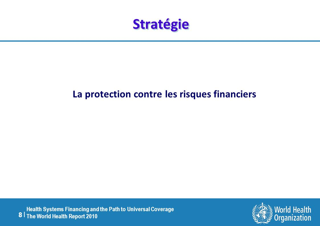La protection contre les risques financiers