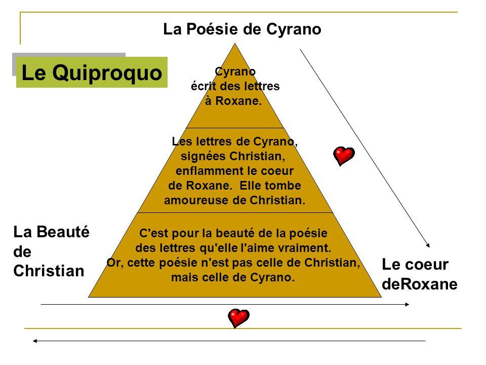 Le Quiproquo La Poésie de Cyrano La Beauté de Christian Le coeur