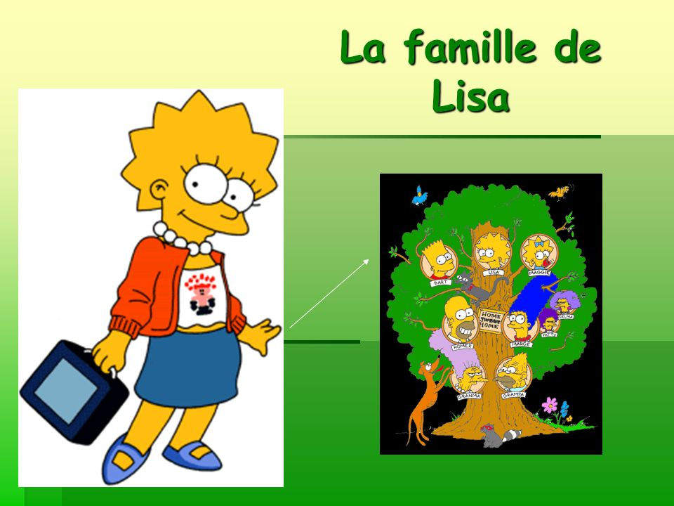 La famille de Lisa