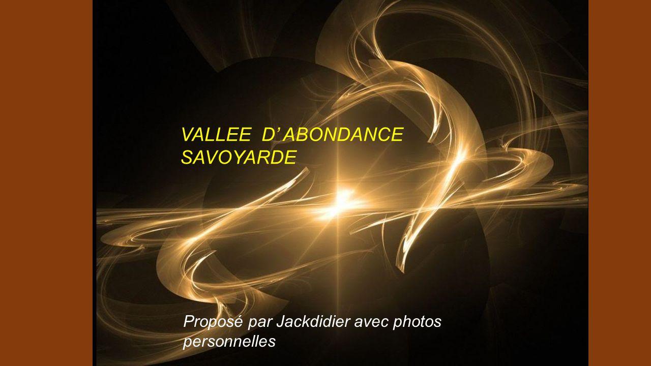 VALLEE D' ABONDANCE SAVOYARDE