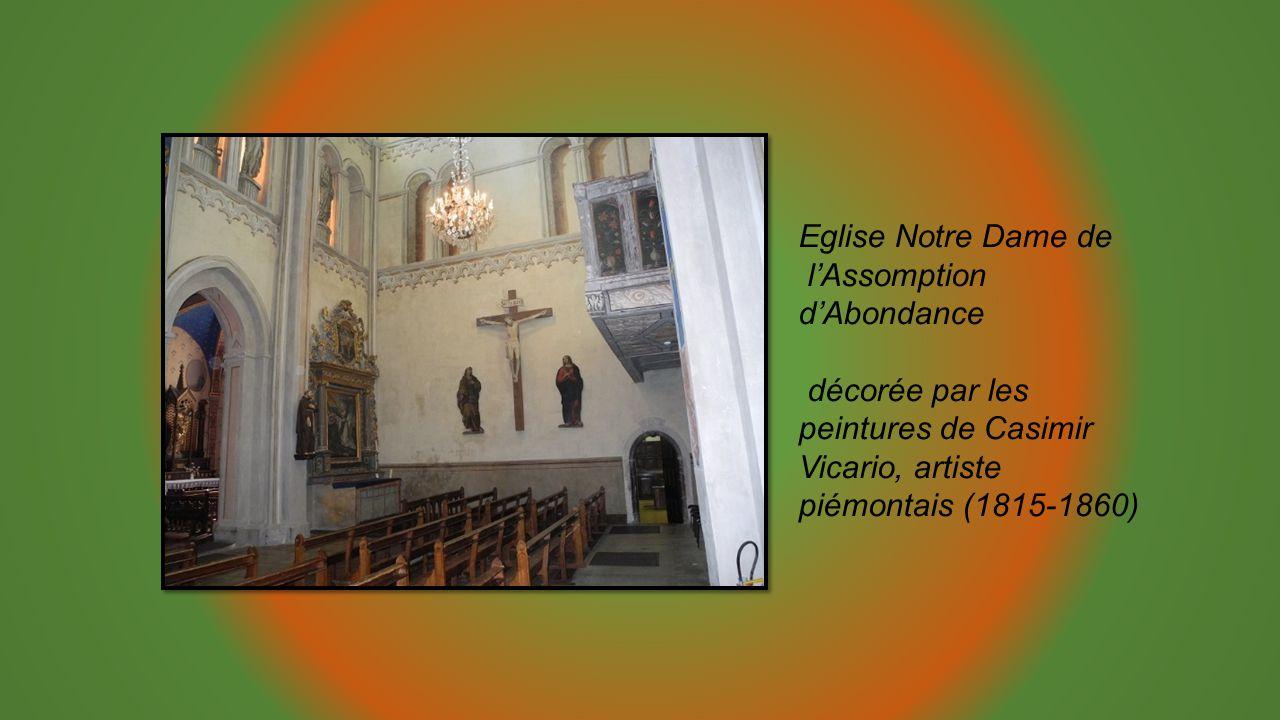 Eglise Notre Dame de l'Assomption d'Abondance.