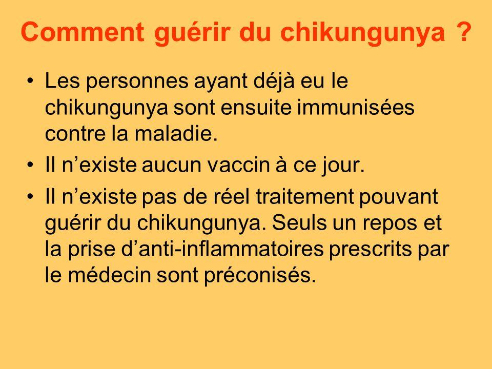 Comment guérir du chikungunya