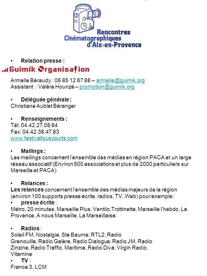 Relation presse : Armelle Béraudy : 06 85 12 67 88 – armelle@guimik.org. Assistant : Valère Hounzé – promotion@guimik.org.