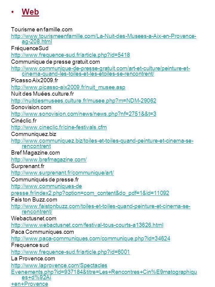 Web Tourisme en famille.com