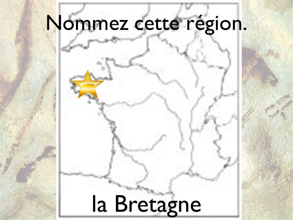 Nommez cette région. un dolmen la Bretagne