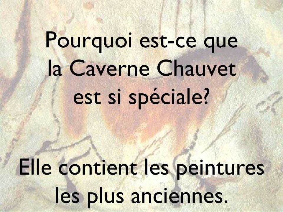 Pourquoi est-ce que la Caverne Chauvet est si spéciale