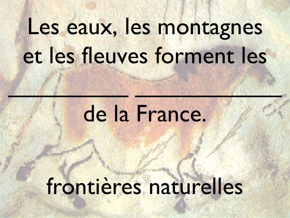 frontières naturelles