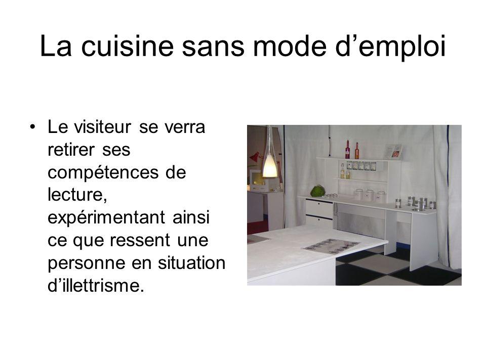 La cuisine sans mode d'emploi