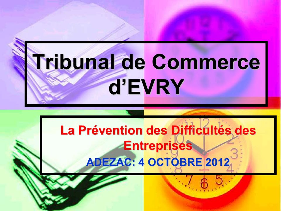 Tribunal de Commerce d'EVRY