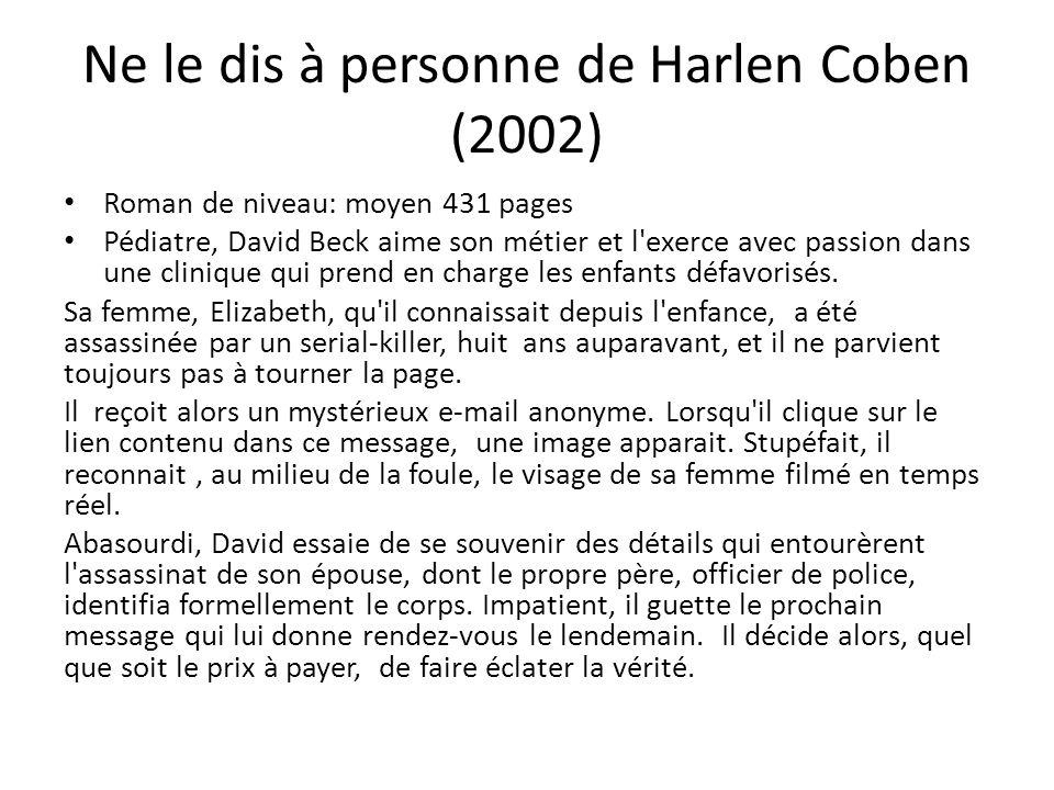 Ne le dis à personne de Harlen Coben (2002)