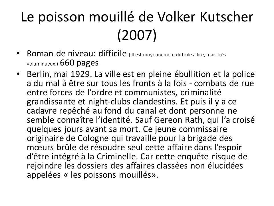 Le poisson mouillé de Volker Kutscher (2007)