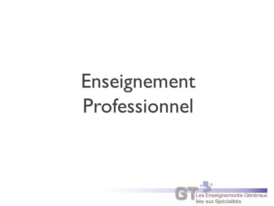 Enseignement Professionnel 29