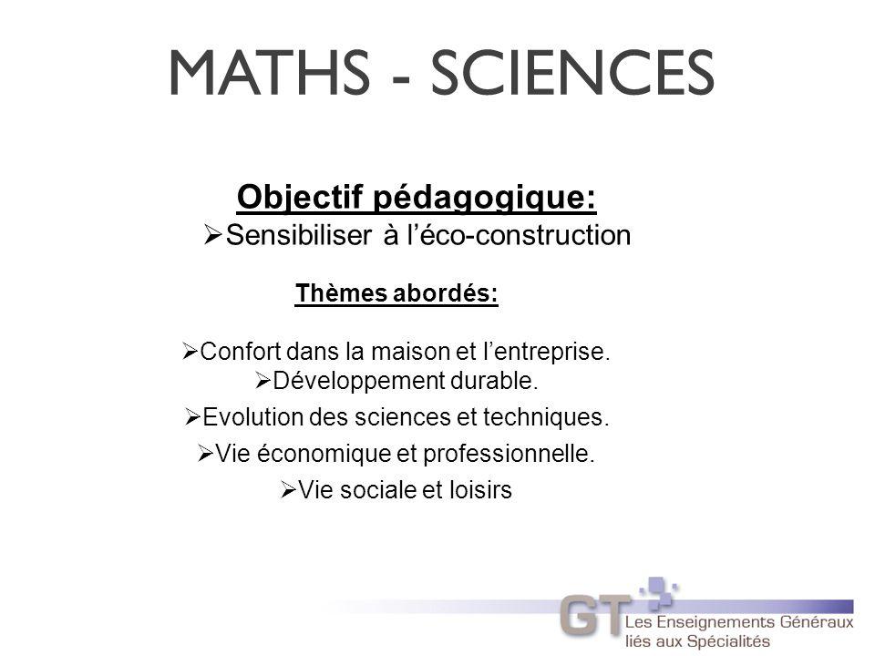 Objectif pédagogique: