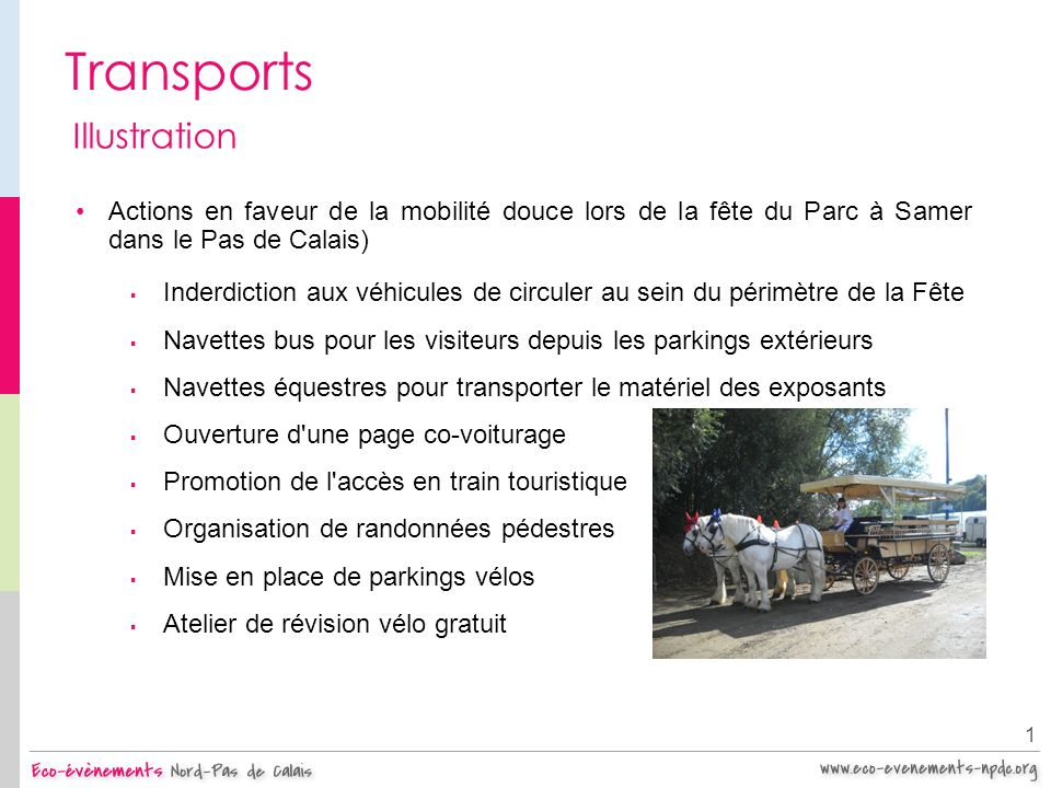 Transports Illustration