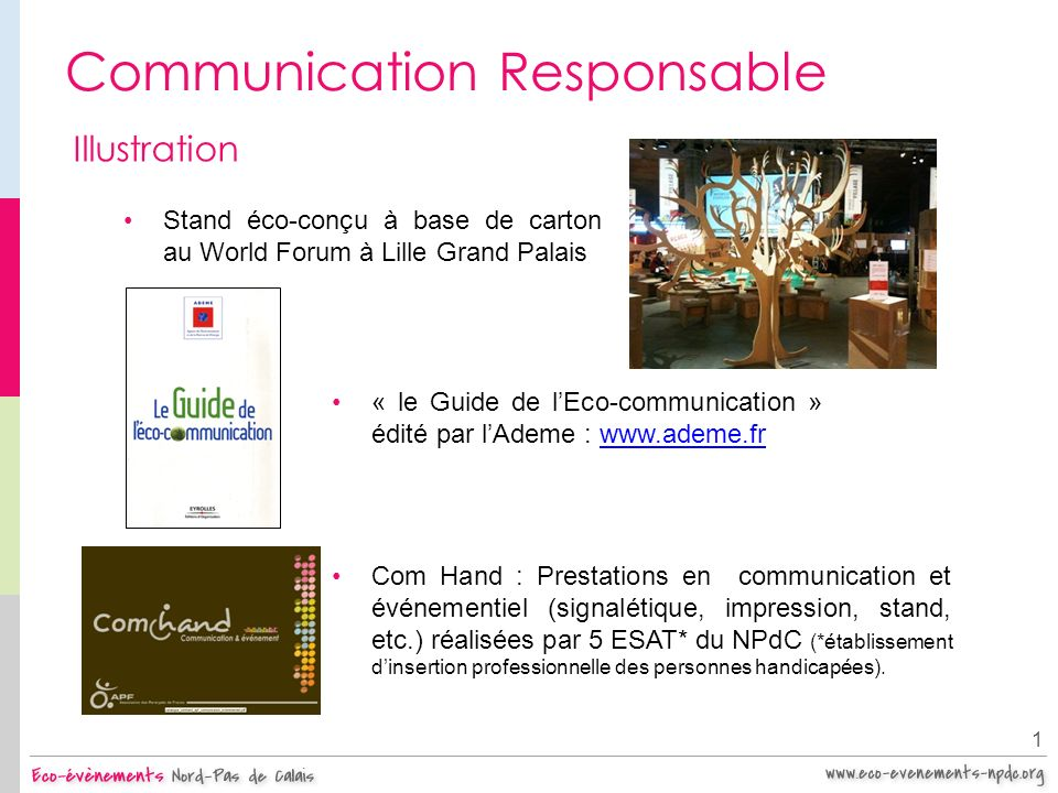Communication Responsable