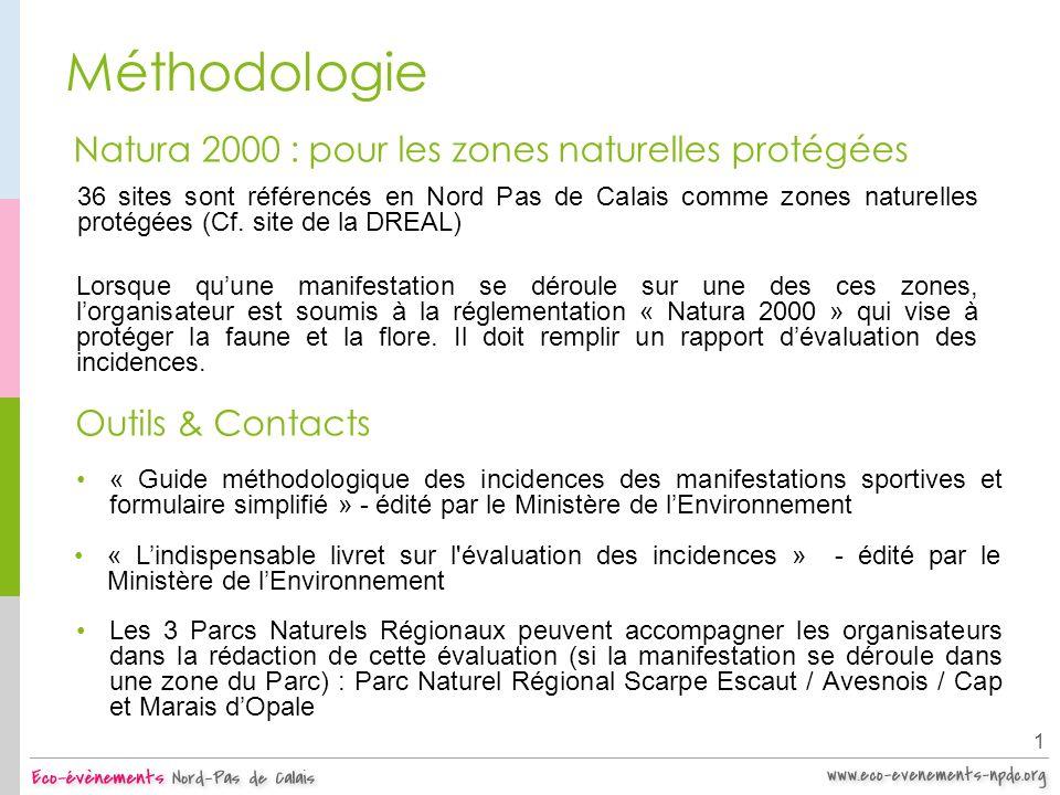 Méthodologie Natura 2000 : pour les zones naturelles protégées