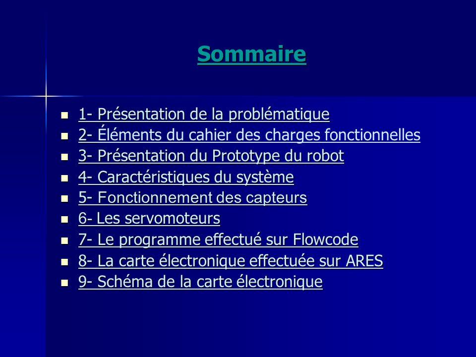 Sommaire 1- Présentation de la problématique
