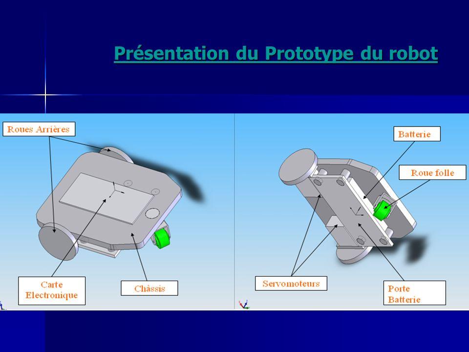 Présentation du Prototype du robot