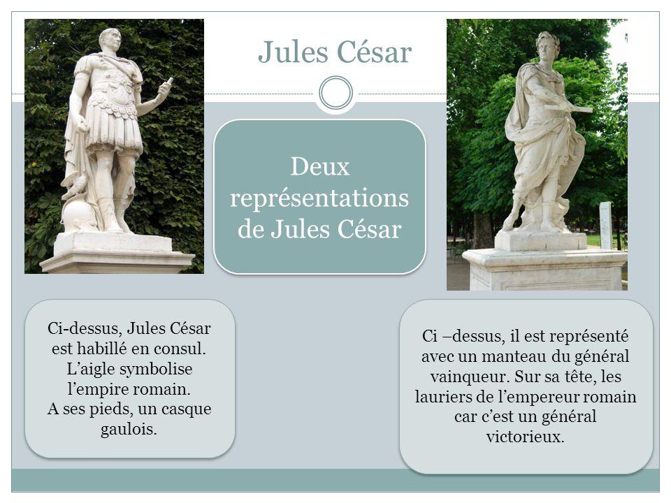 Jules César Deux représentations de Jules César