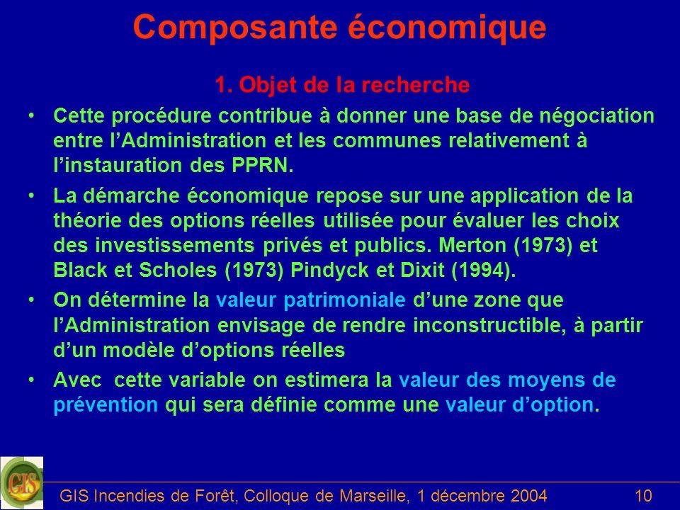 Composante économique