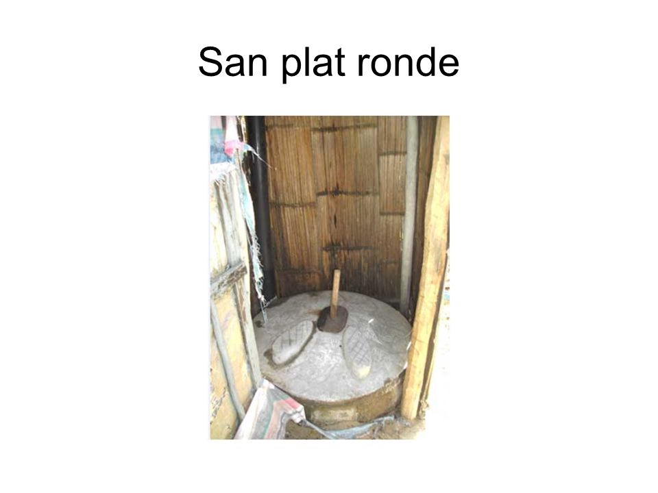 San plat ronde