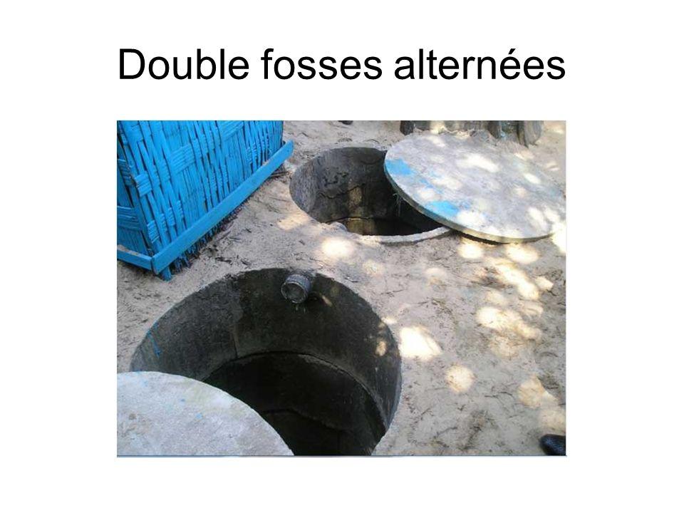 Double fosses alternées