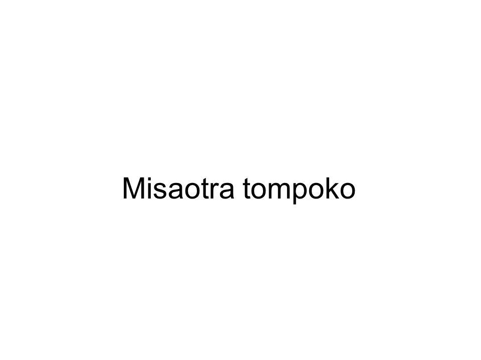 Misaotra tompoko