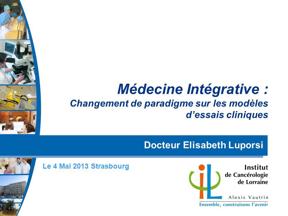 Médecine Intégrative : Changement de paradigme sur les modèles d'essais cliniques